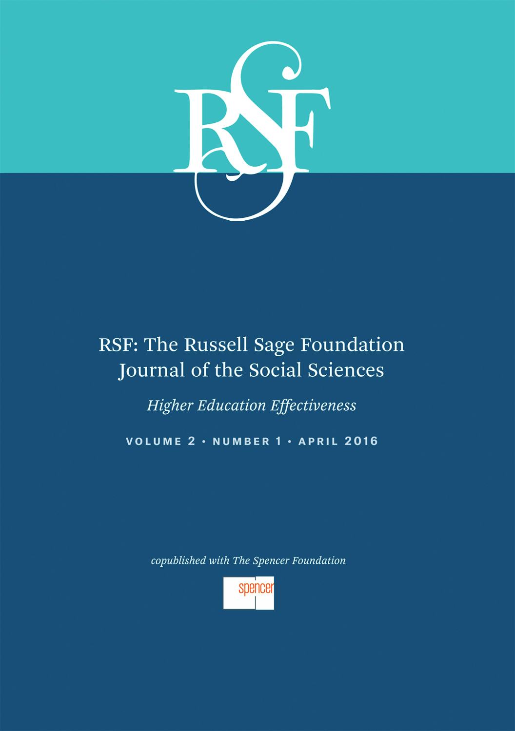 U S  Higher Education Effectiveness | RSF: The Russell Sage