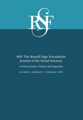RSF: The Russell Sage Foundation Journal of the Social Sciences: 5 (1)