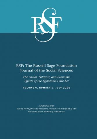RSF: The Russell Sage Foundation Journal of the Social Sciences: 6 (2)