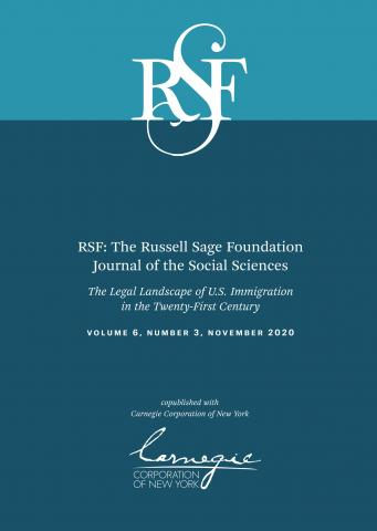 RSF: The Russell Sage Foundation Journal of the Social Sciences: 6 (3)