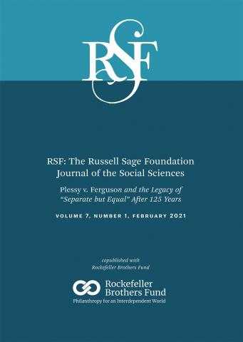 RSF: The Russell Sage Foundation Journal of the Social Sciences: 7 (1)